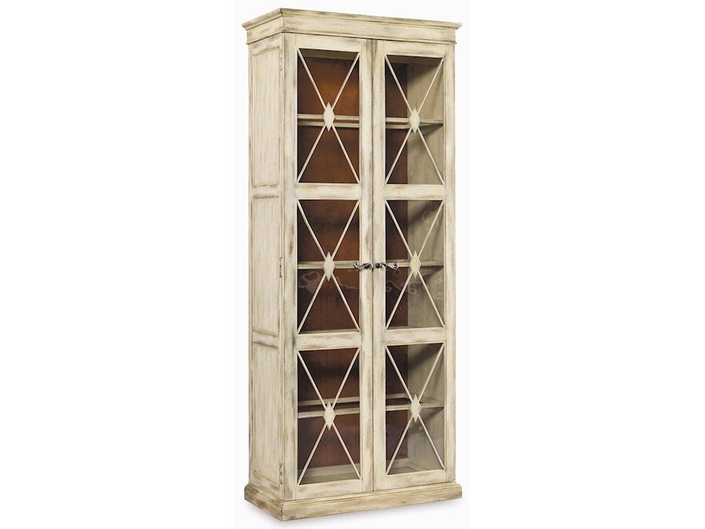 Hooker Furniture SanctuaryTwo Door Thin Display Cabinet