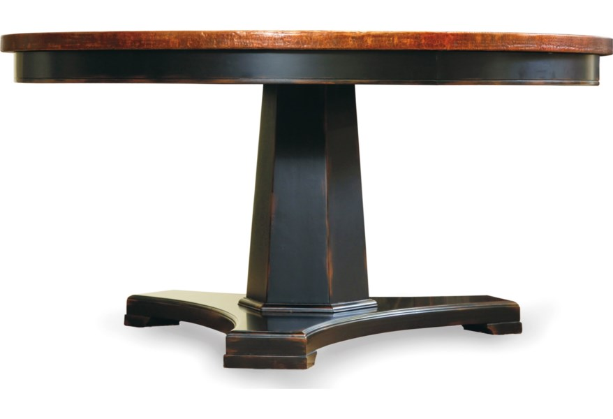 Sanctuary 48 in Round Pedestal Dining Table by Hooker Furniture at Dunk &  Bright Furniture