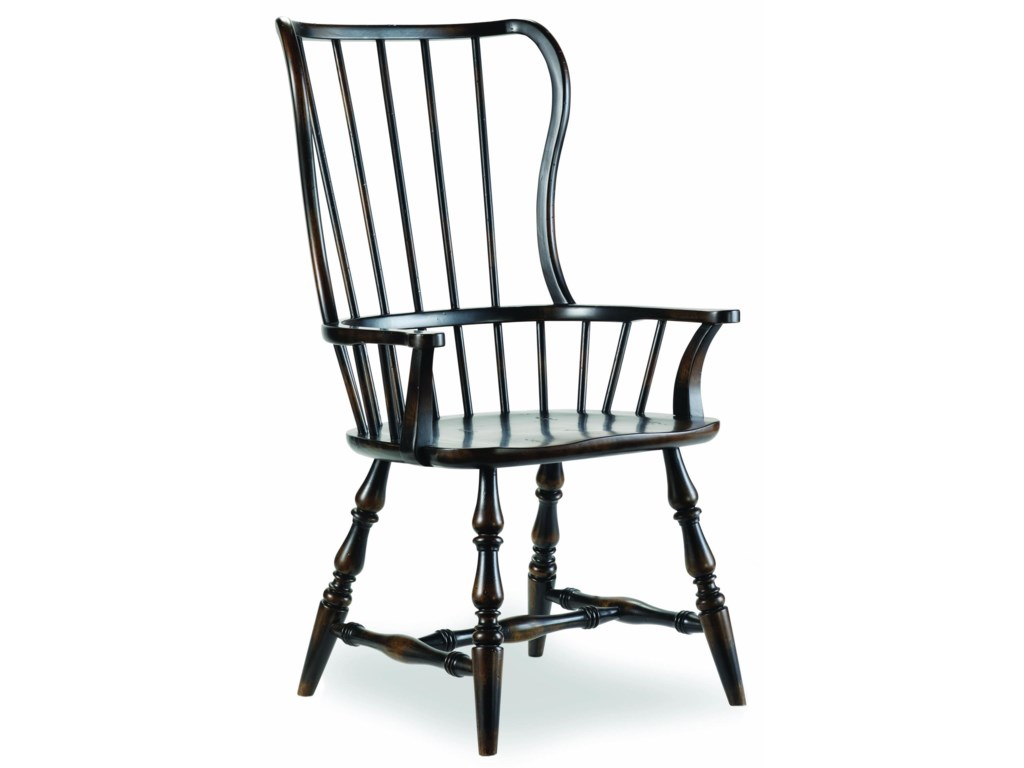 Hooker Furniture SanctuarySpindle Back Arm Chair