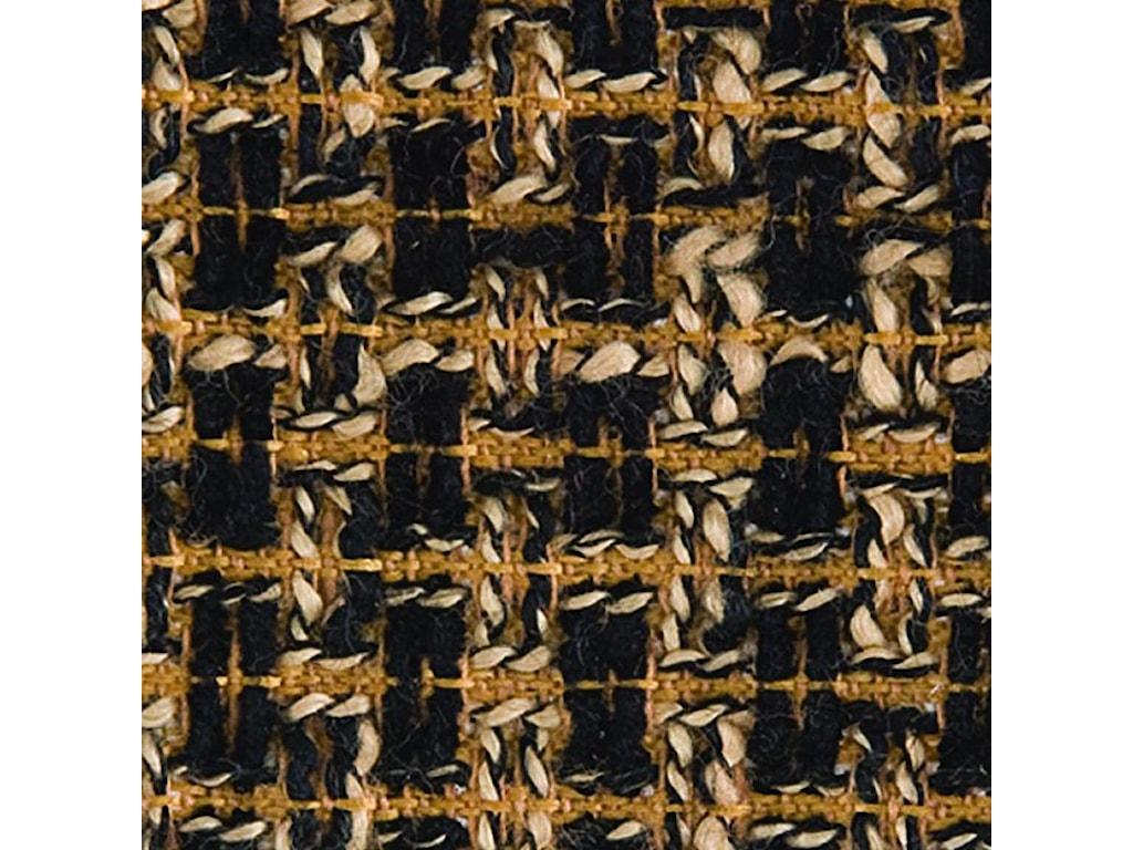 Gold Black Tweed Fabric