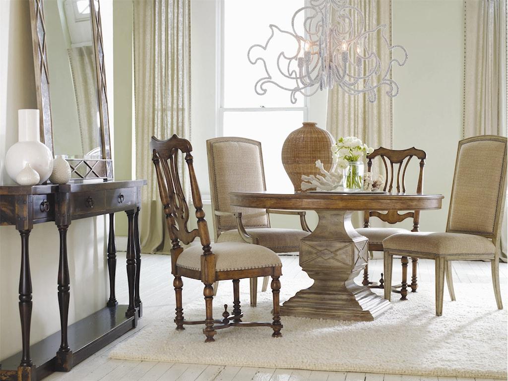 Hooker Furniture SanctuaryFour Drawer Thin Console