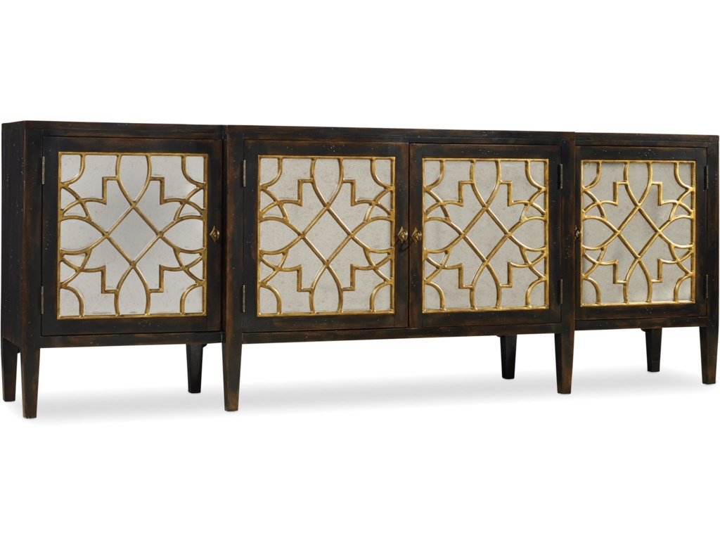 Hooker Furniture SanctuaryFour Door Mirrored Console