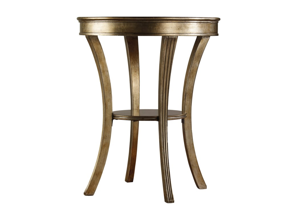 Hooker Furniture SanctuaryRound Mirrored Accent Table