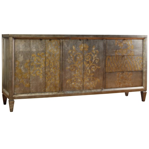 Hooker Furniture Sanctuary Four-Door Three-Drawer Console