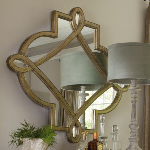 Hooker Furniture Sanctuary Shaped Mirror