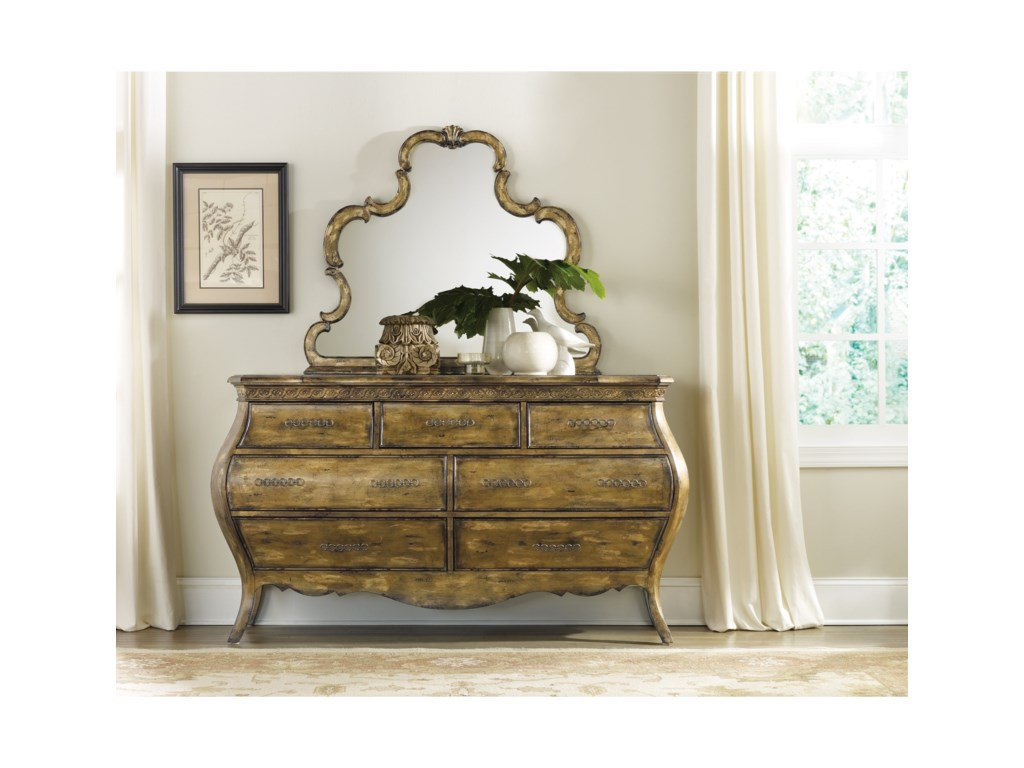 Hooker Furniture SanctuarySeven Drawer Dresser