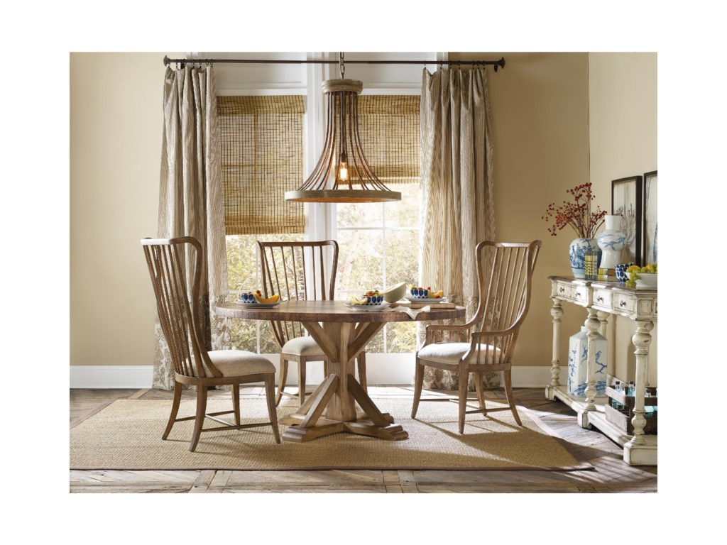 Hooker Furniture SanctuaryTall Spindle Arm Chair