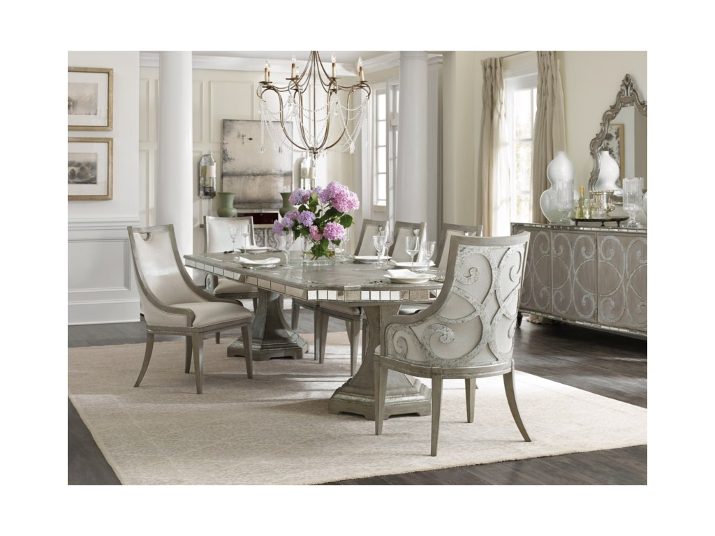 Hooker Furniture SanctuaryFormal Dining Room Group