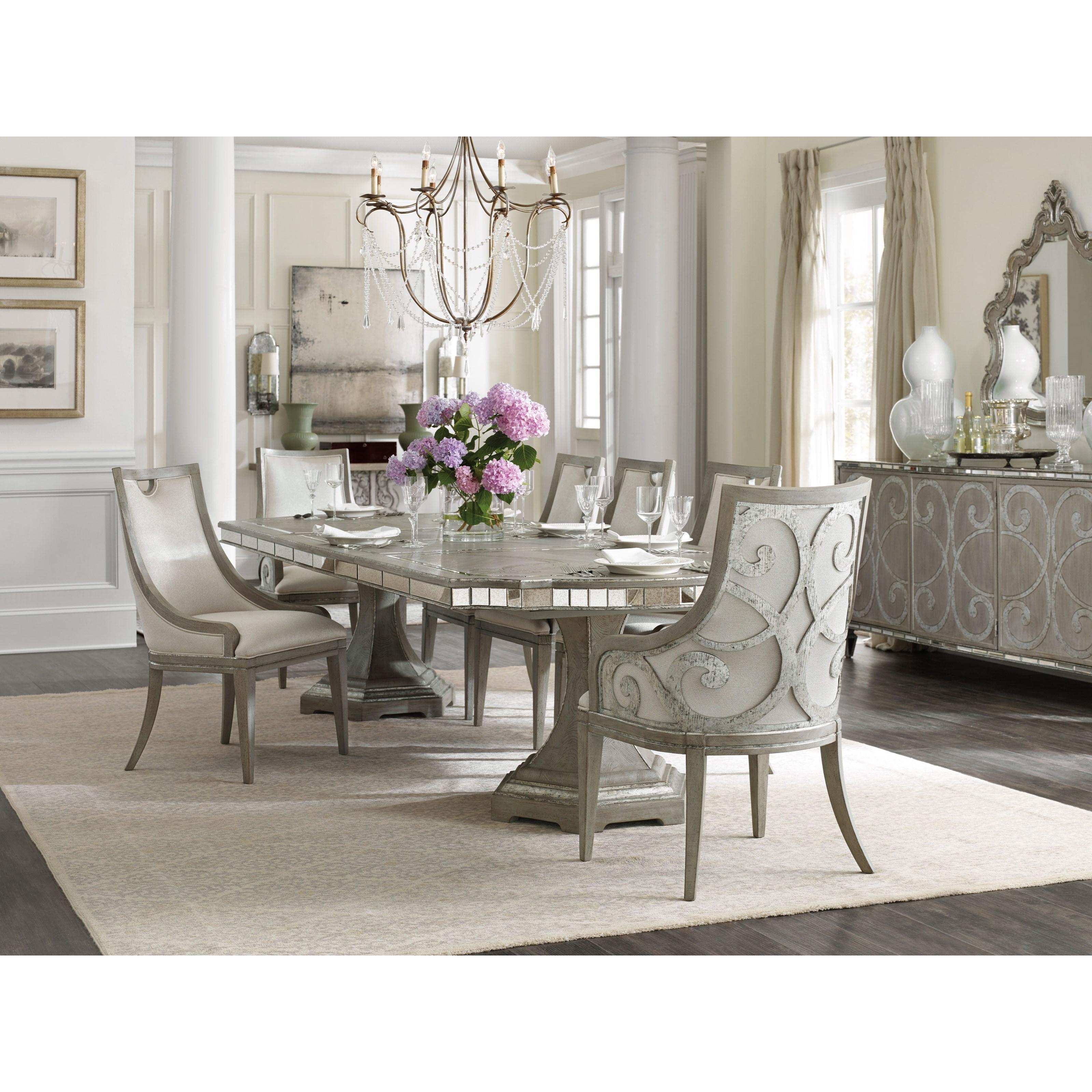 Hooker Furniture Sanctuary Formal Dining Room Group