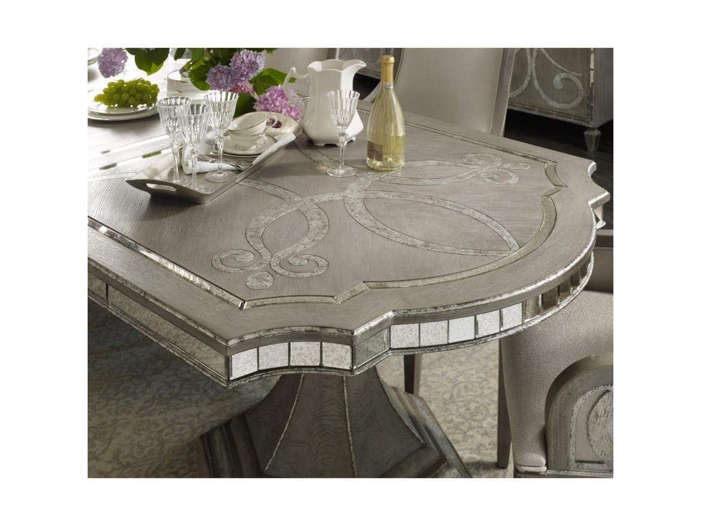 Hooker Furniture SanctuaryRectangle Dining Table w/2-20in leaves