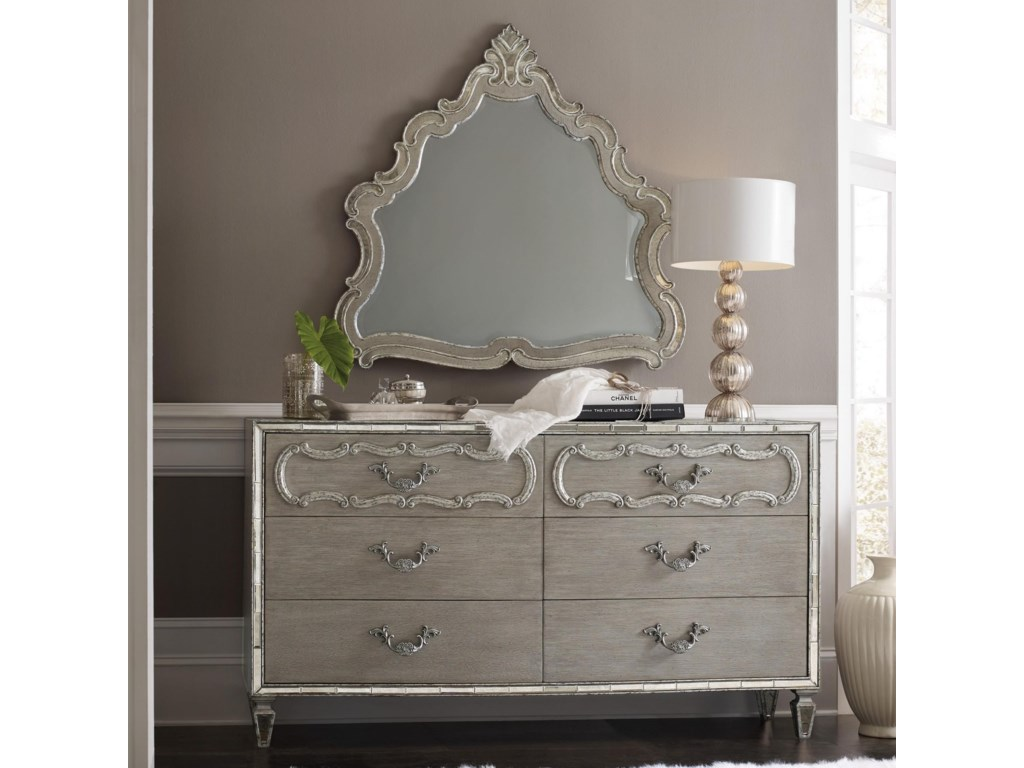 Hooker Furniture SanctuaryDresser and Mirror