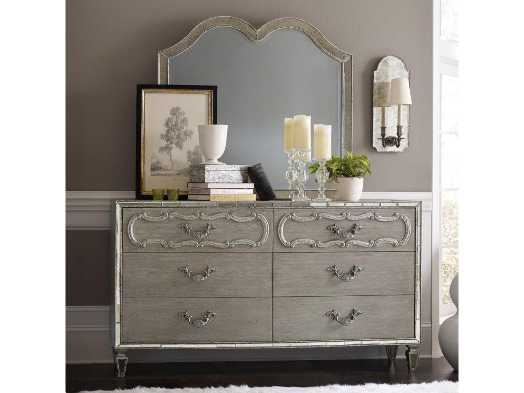 Hooker Furniture SanctuaryDresser and Mirror