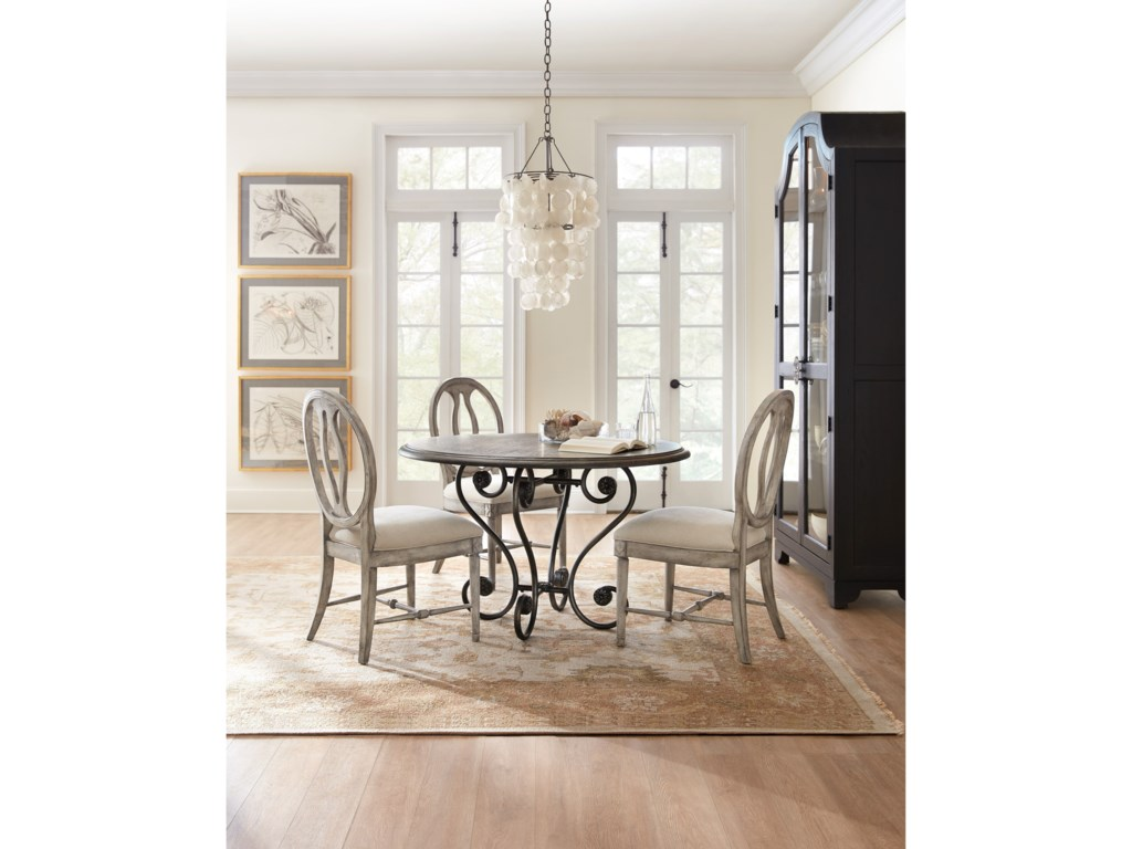 Hooker Furniture Sanctuary48 in Round Dining Table
