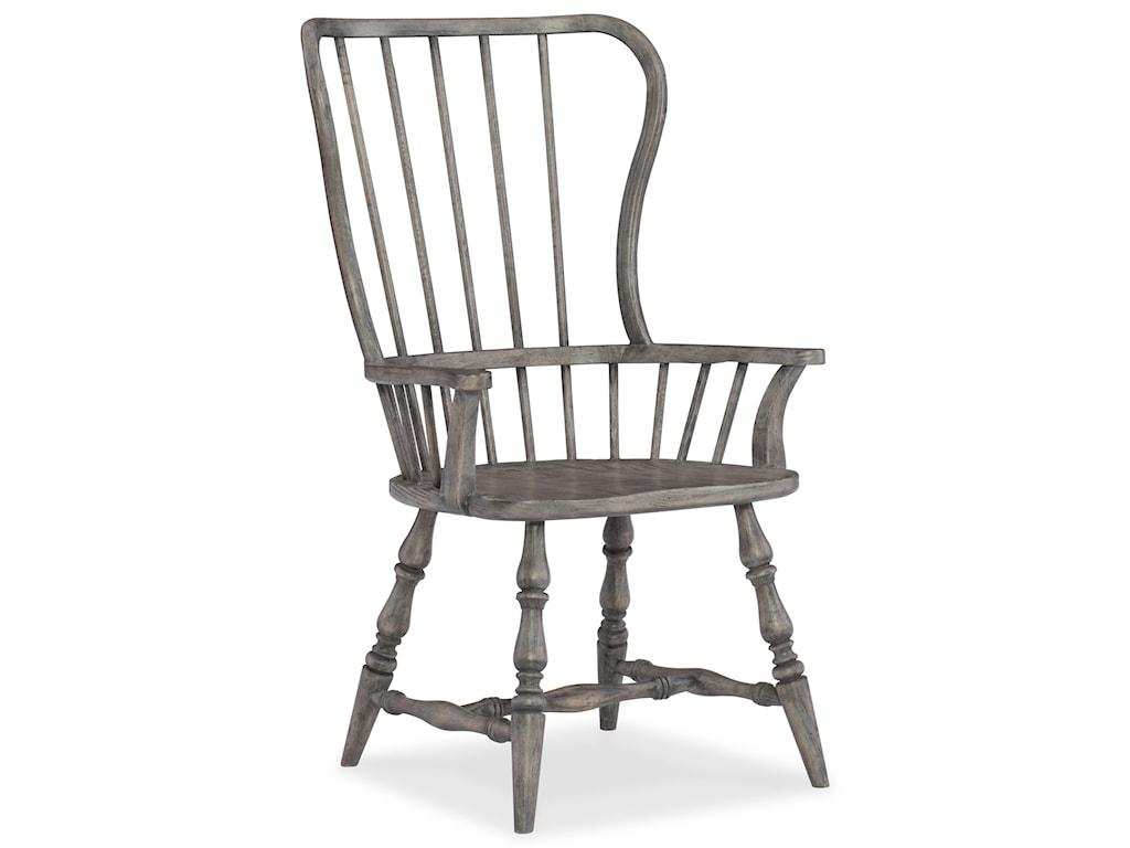 Hooker Furniture SanctuarySpindle Back Arm Chair