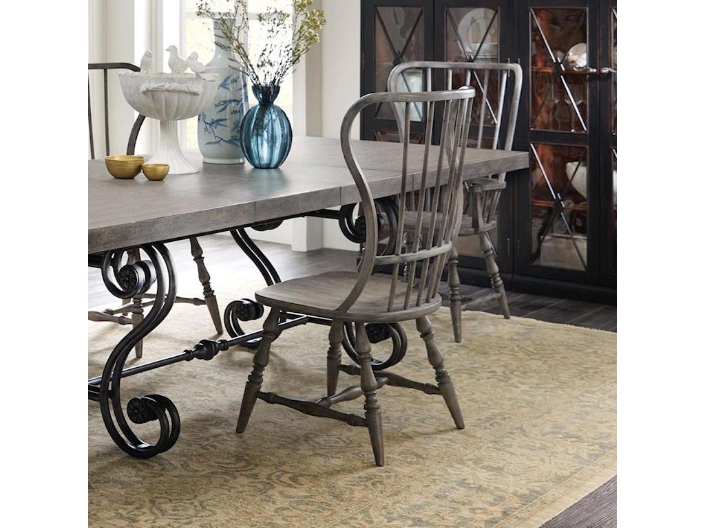 Hooker Furniture SanctuarySpindle Back Side Chair