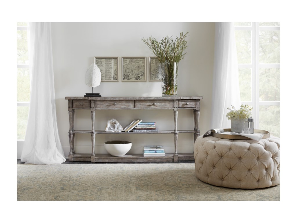 Hooker Furniture SanctuaryFour-Drawer Console