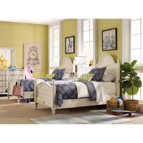 Hooker Furniture Sandcastle Twin Bedroom Group