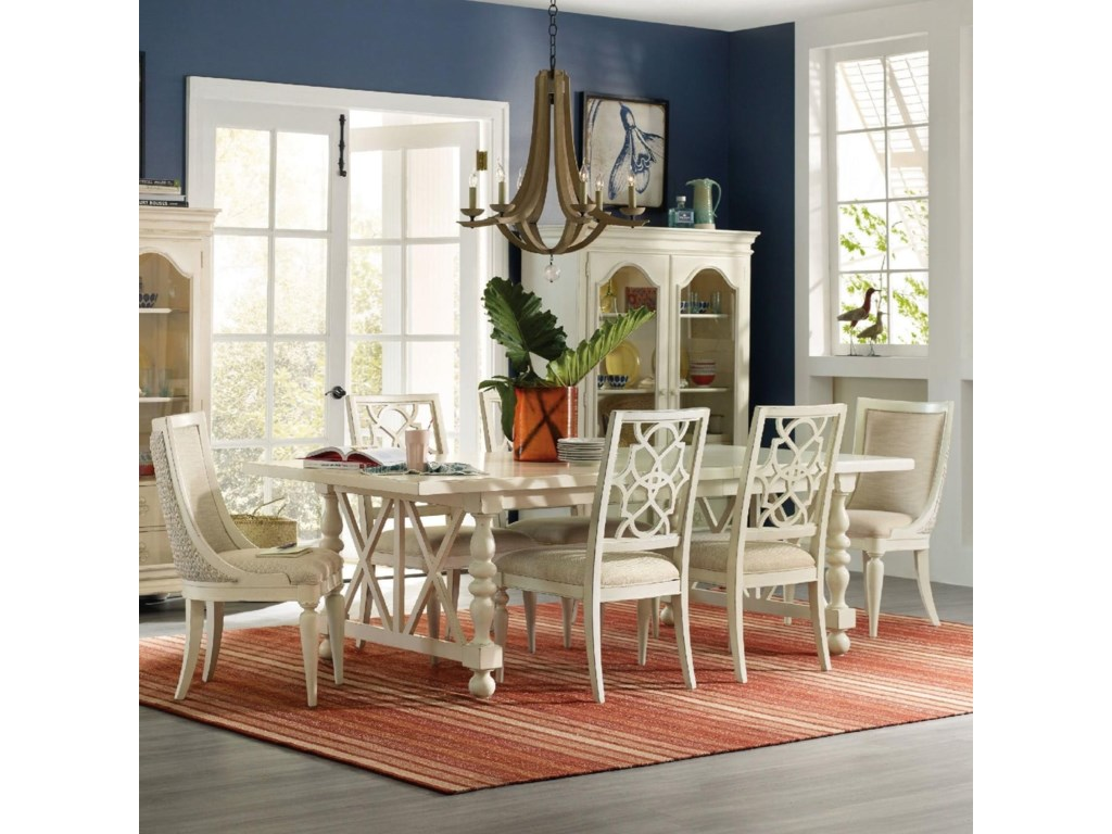 Hooker Furniture Sandcastle7 Piece Dining Set