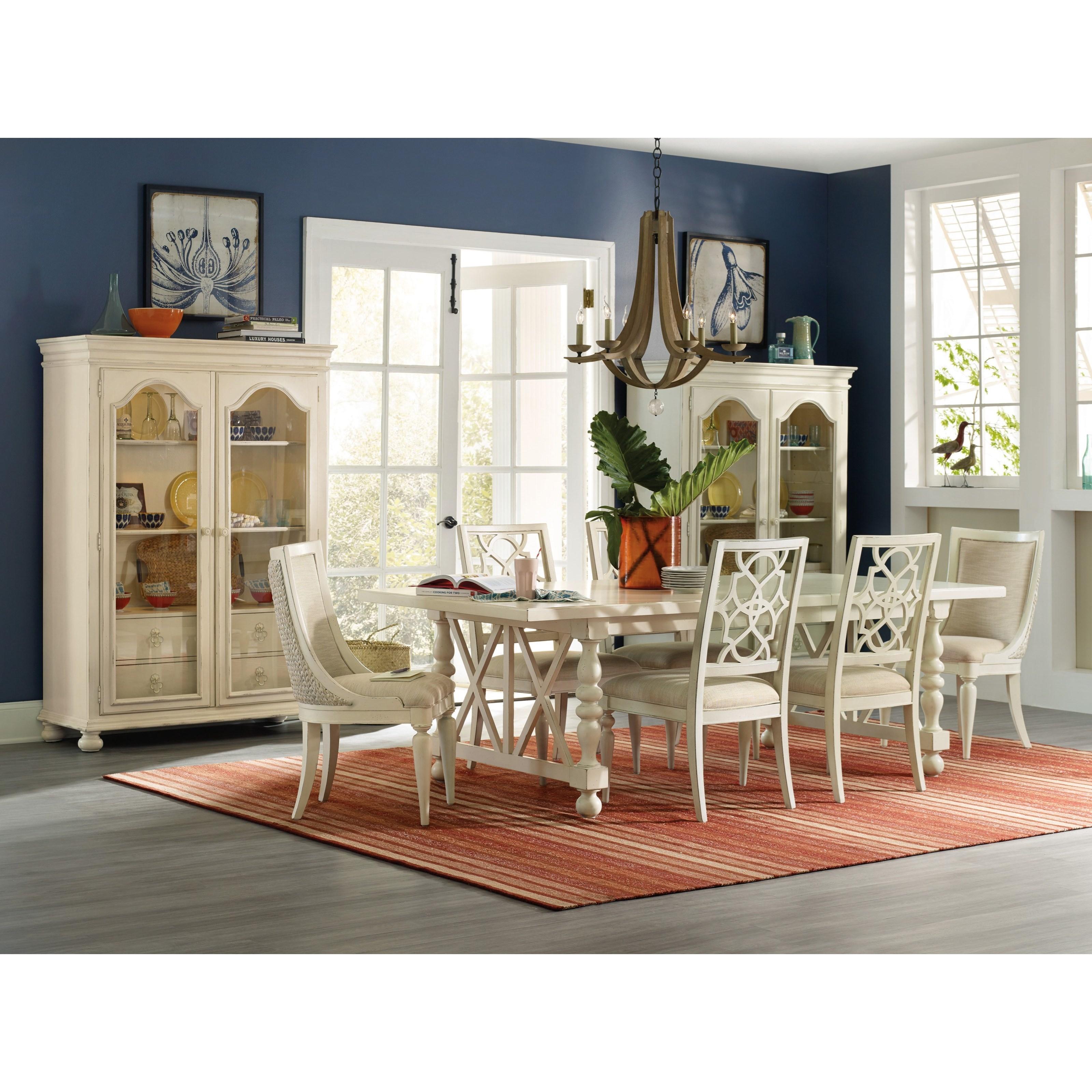 ... Hooker Furniture SandcastleSeagrass Slipper Chair ...  sc 1 st  Knight Furniture & Hooker Furniture Sandcastle Slipper Chair with Woven Seagrass Back ...