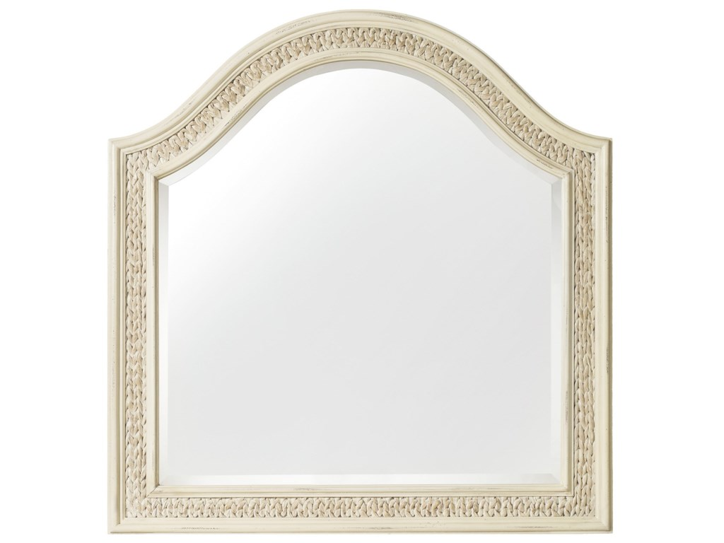 Hooker Furniture SandcastleMirror with Woven Sea Grass