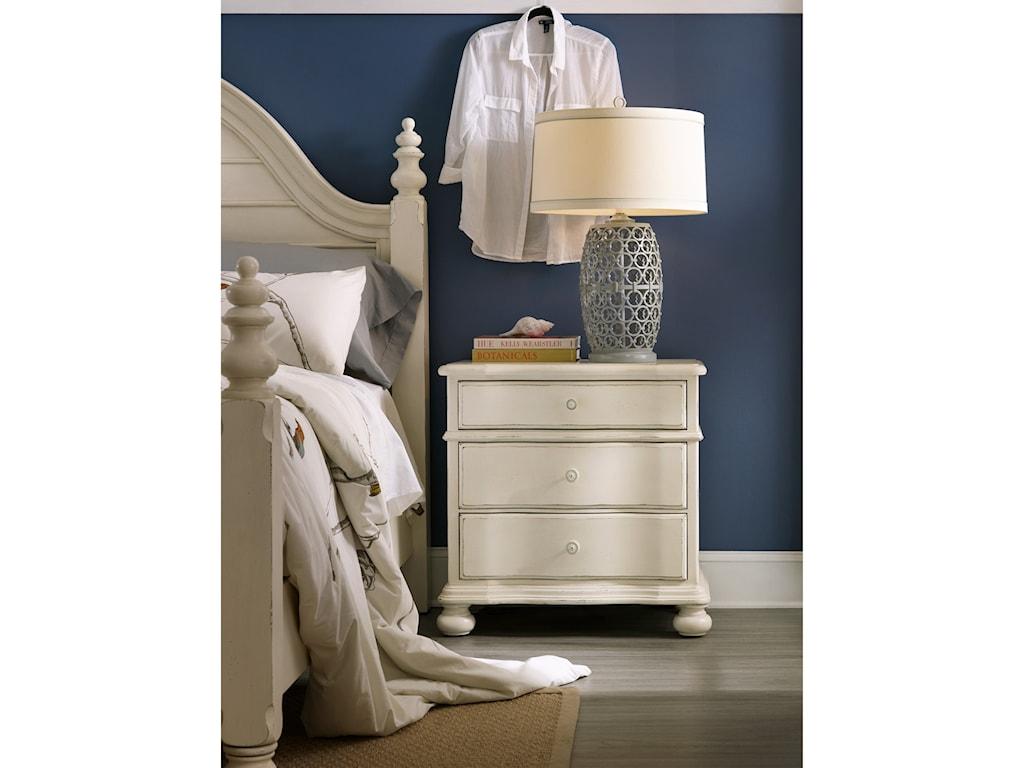 Hooker Furniture SandcastleThree-Drawer Nightstand