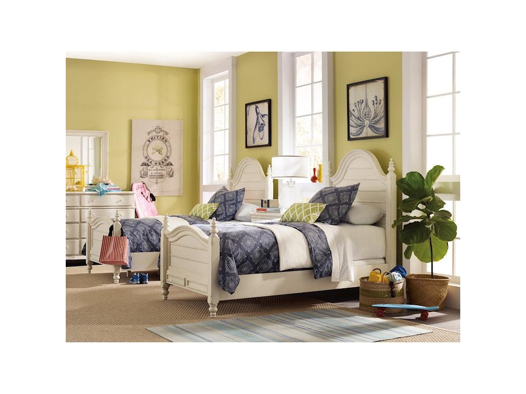 Hooker Furniture SandcastleTwin Wood Panel Bed