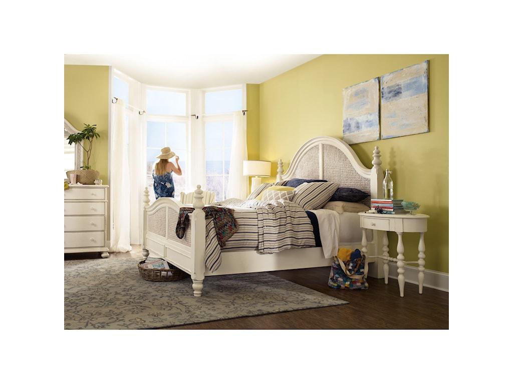 Hooker Furniture SandcastleKing Woven Panel Bed