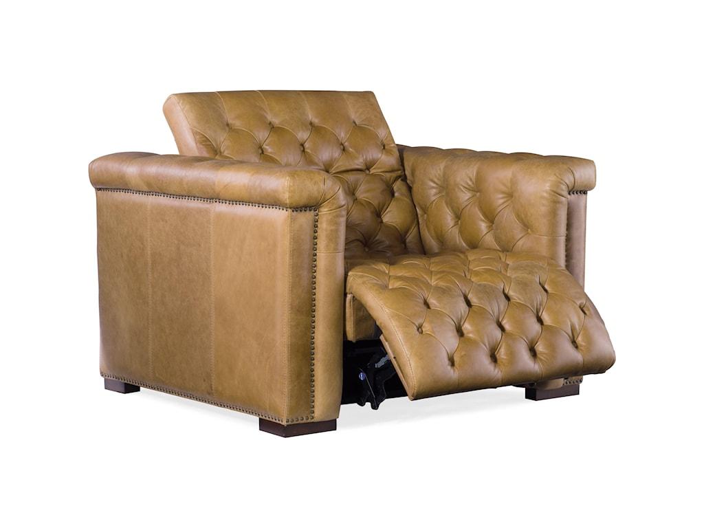 Hooker Furniture SavionGrandier Power Leather Recliner