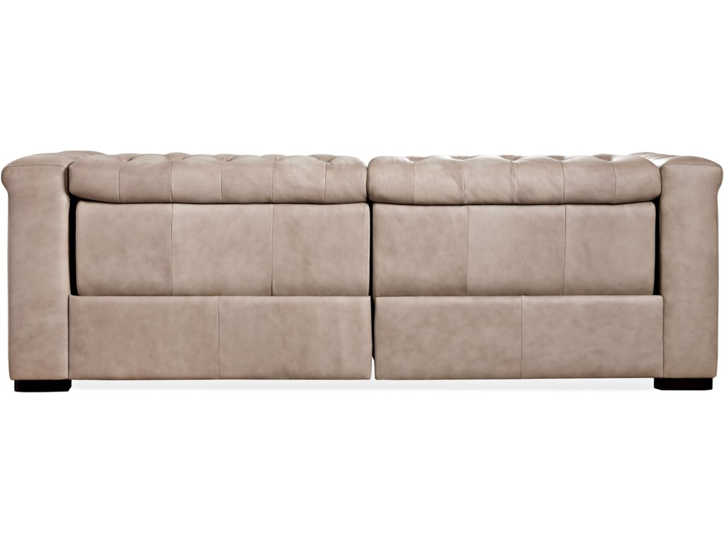 Hooker Furniture SavionPower Leather Motion Sofa
