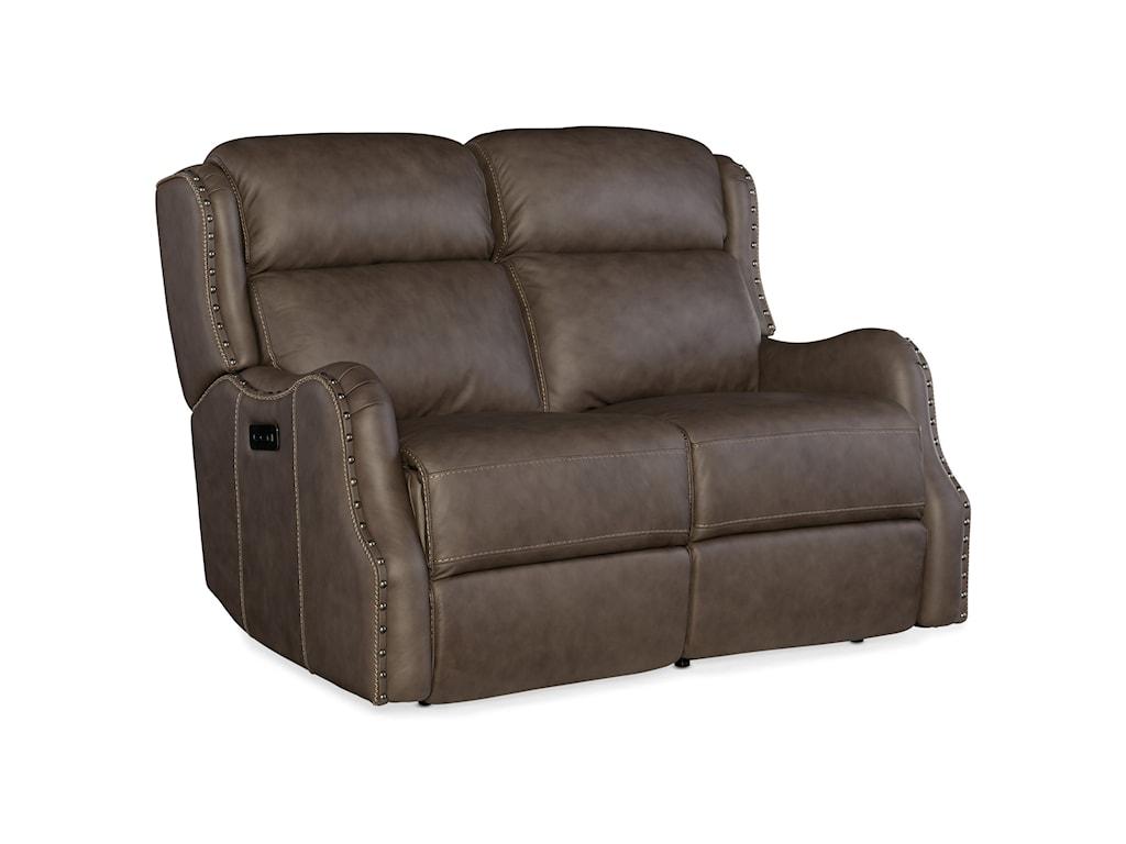 Hooker Furniture SawyerPower Loveseat with Power Headrest