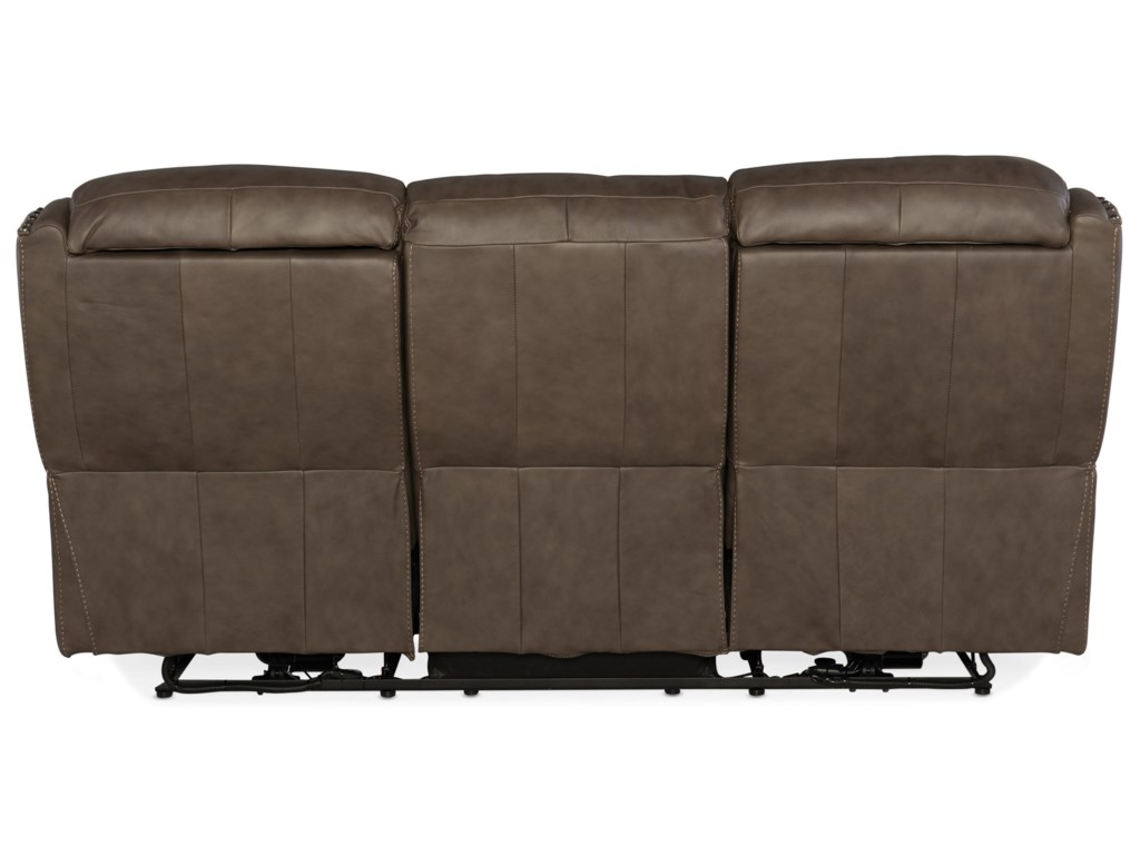 Hooker Furniture SawyerPower Sofa with Power Headrest
