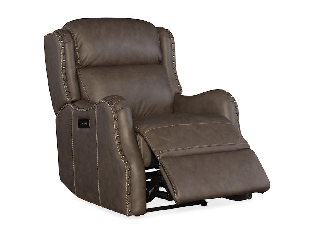 Hooker Furniture SawyerPower Recliner with Power Headrest