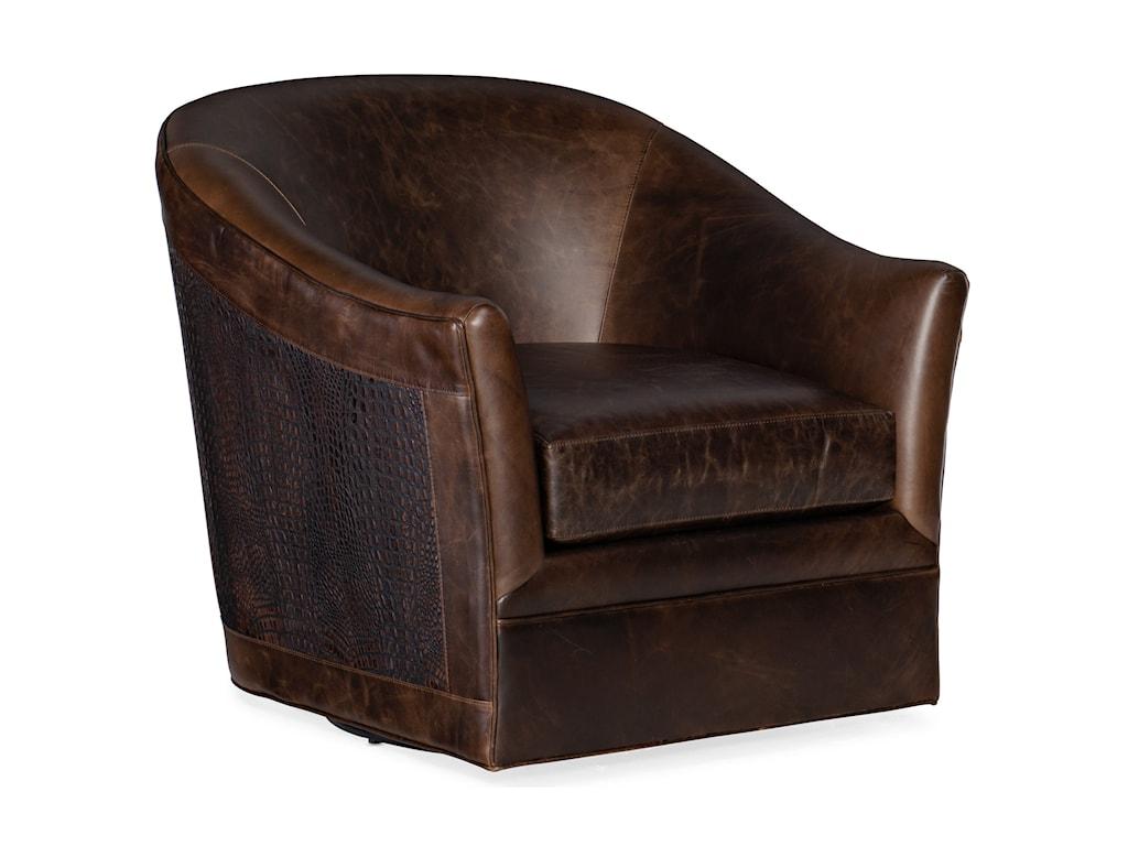 Hooker Furniture Club ChairsMorrison Swivel Club Chair