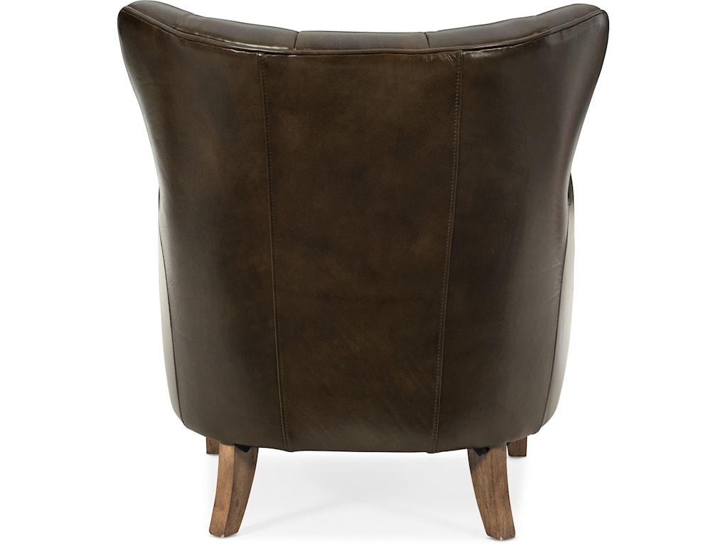 Hooker Furniture Club ChairsTreasure Leather Club Chair