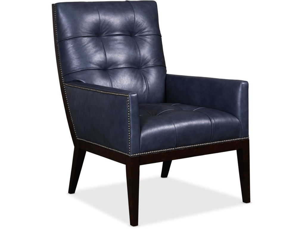 Hooker Furniture Club ChairsBasey Leather Club Chair