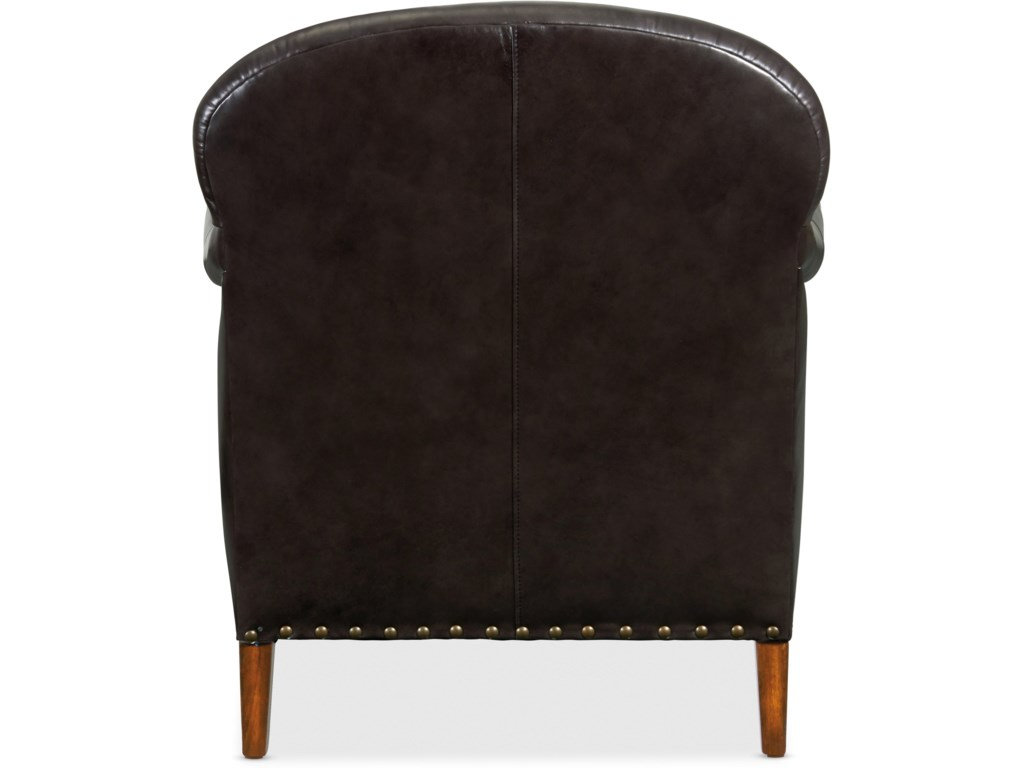 Hooker Furniture Club ChairsCavallo Leather Club Chair
