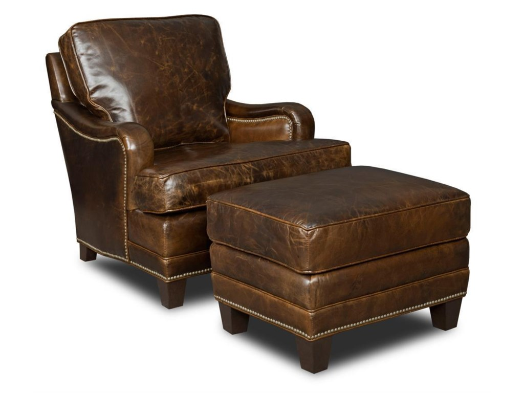Hooker Furniture Club ChairsOttoman