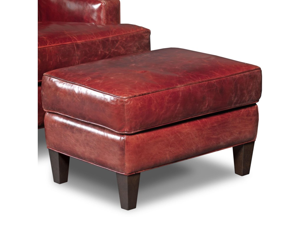 Hooker Furniture Club ChairsCovington Bogue Ottoman