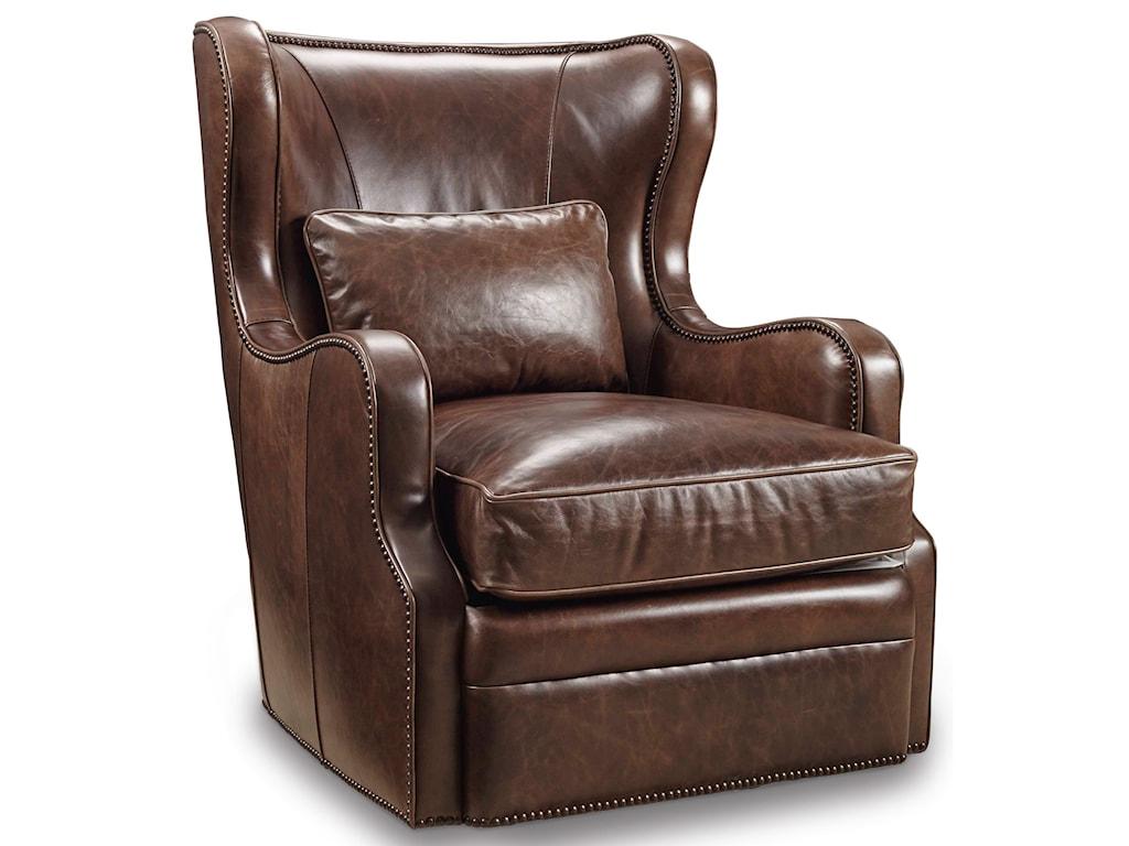 Hooker Furniture Club ChairsSwivel Club Chair