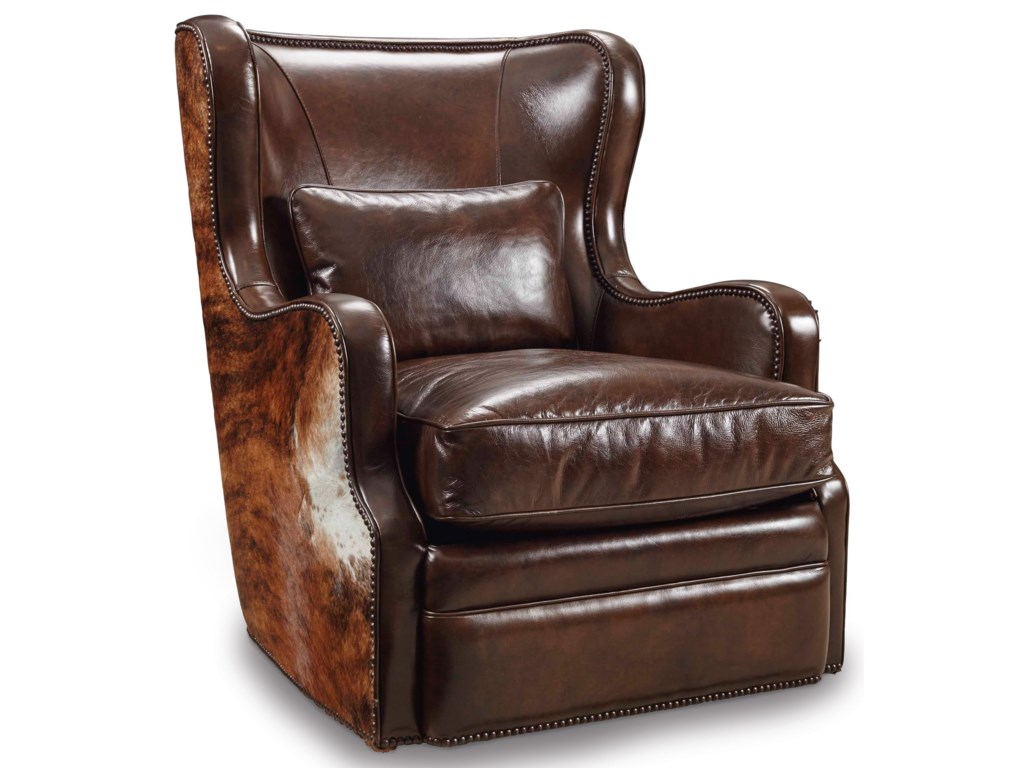 Hooker Furniture Club ChairsSwivel Club Chair