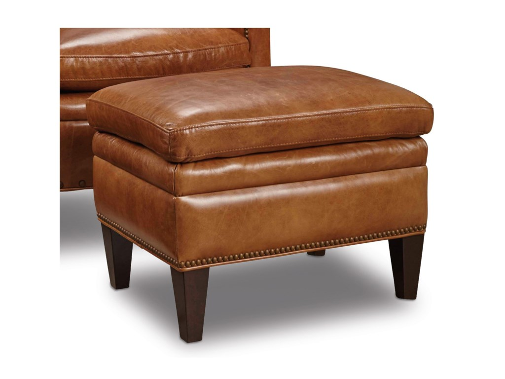 Hooker Furniture Club ChairsTraditional Ottoman