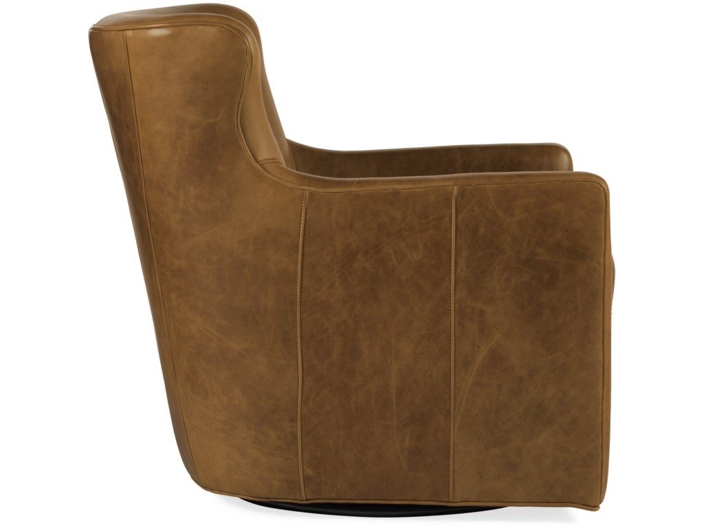 Hooker Furniture Club ChairsHess Swivel Chair
