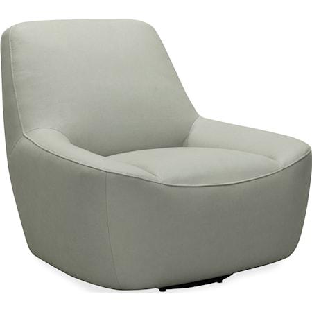 Maneuver Leather Swivel Chair