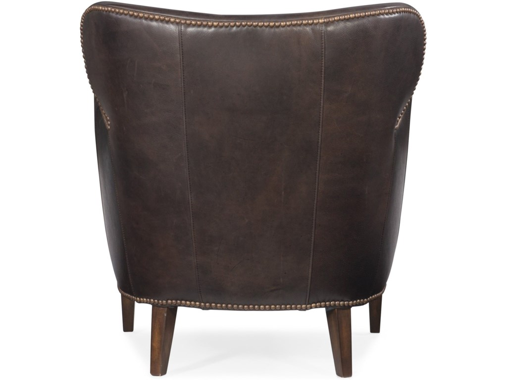 Hooker Furniture Club ChairsKato Leather Club Chair