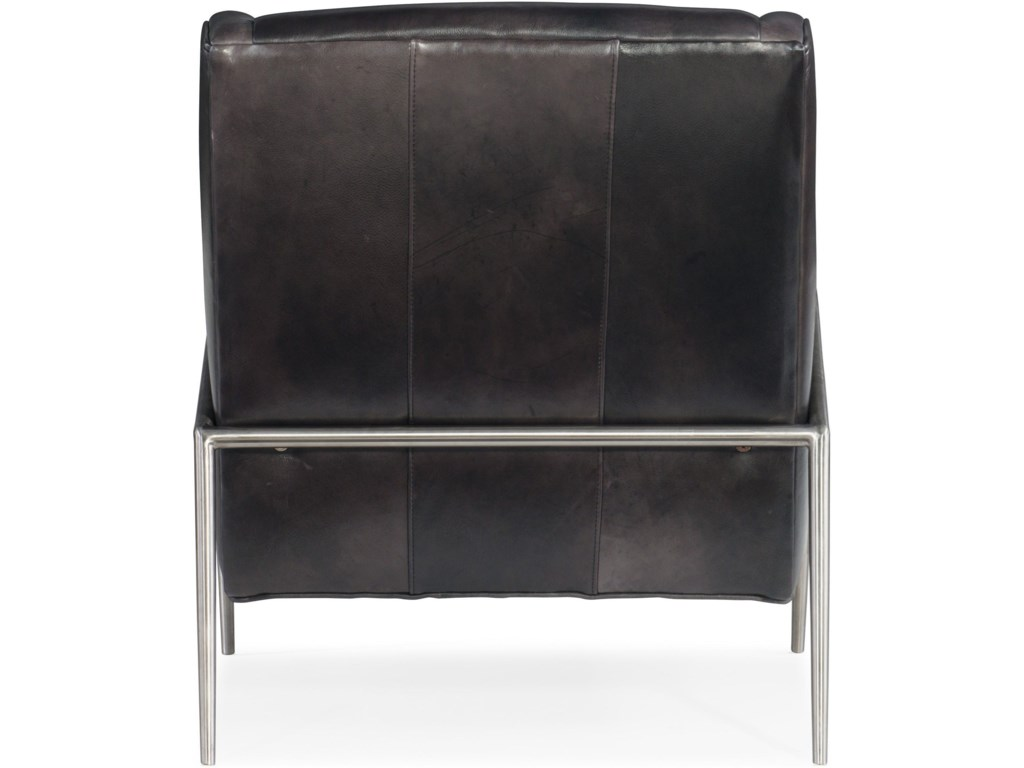 Hooker Furniture Club ChairsHamilton Metal Accent Club Chair