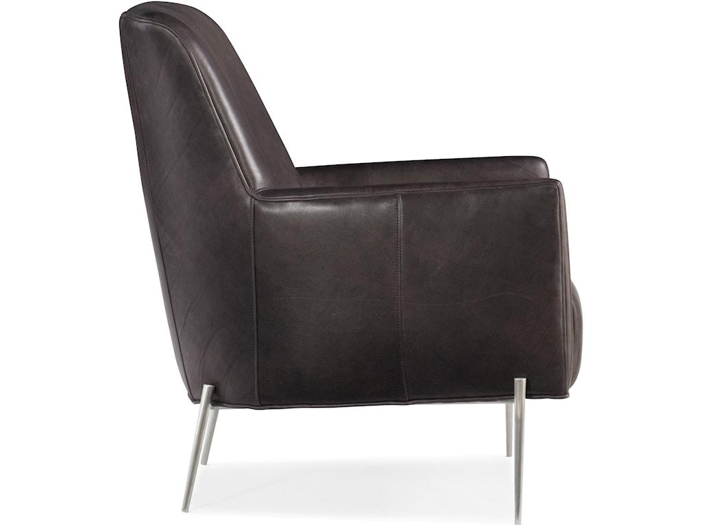 Hooker Furniture Club ChairsHolmes Metal Frame Club Chair
