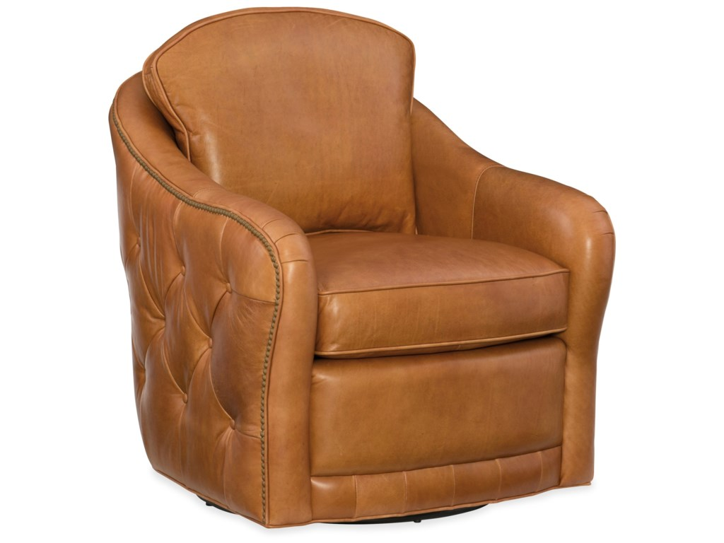 Hooker Furniture Club ChairsHilton Swivel Club Chair