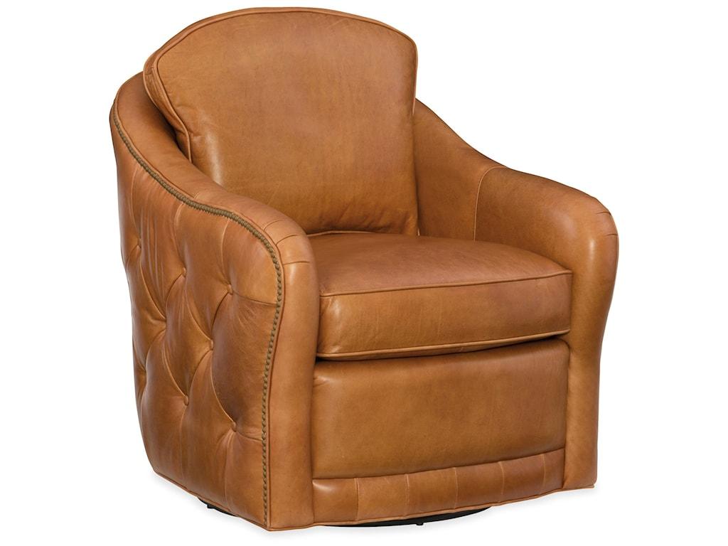Hooker Furniture Club ChairsHilton Swivel Club Chair