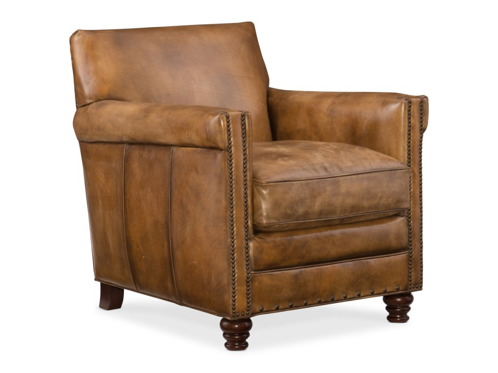 Hooker Furniture Club ChairsPotter Upholstered Club Chair