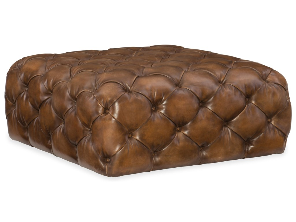 Hooker Furniture Club ChairsEthan Square Ottoman